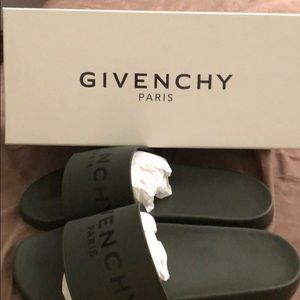 Givenchy Shoes - Givenchy Monogram Pool Slides